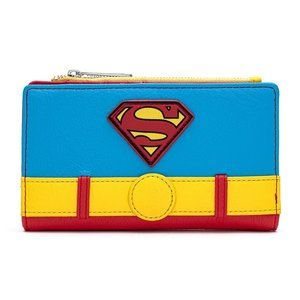 Loungefly DCComics Classic Superman Cosplay Wallet